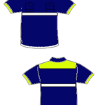 camisa encargado azul marina