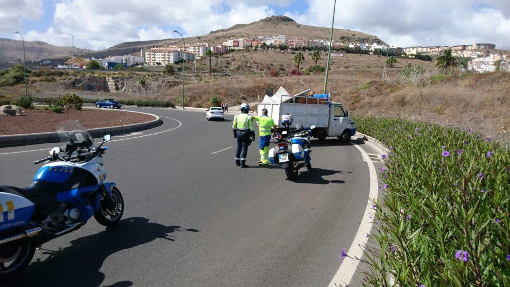Nuevo accidente en Limpieza Viaria y con este ya van tres