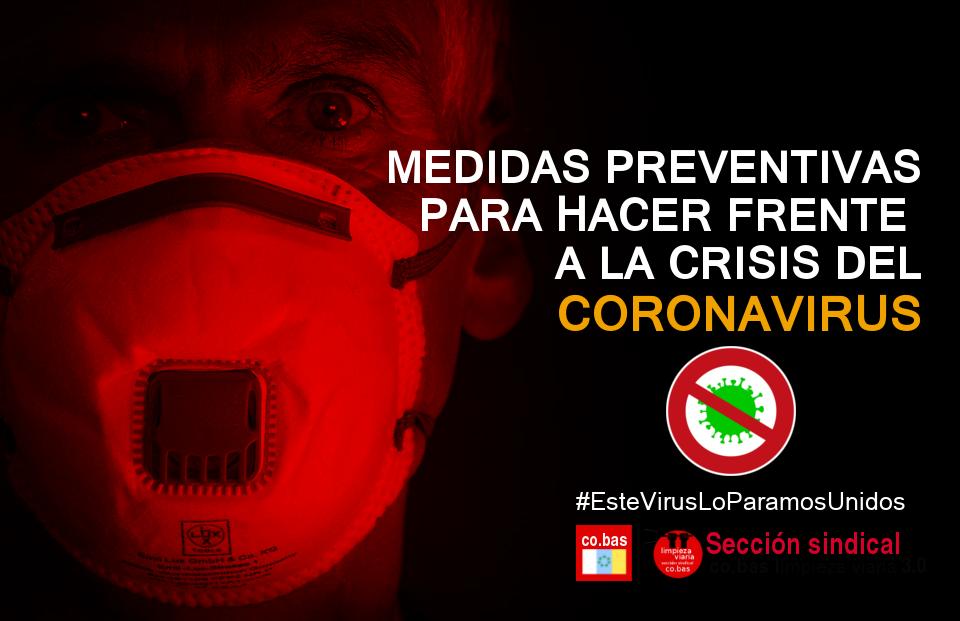 Covid19: Pongamos freno al coronavirus
