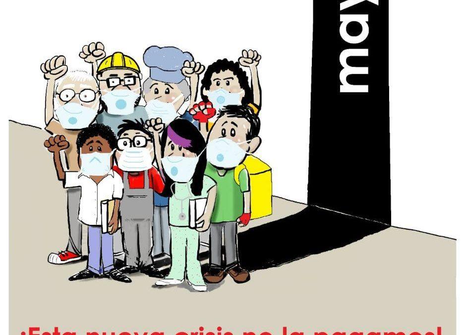 MANIFIESTO: 1º de Mayo contra las Desigualdades Sociales