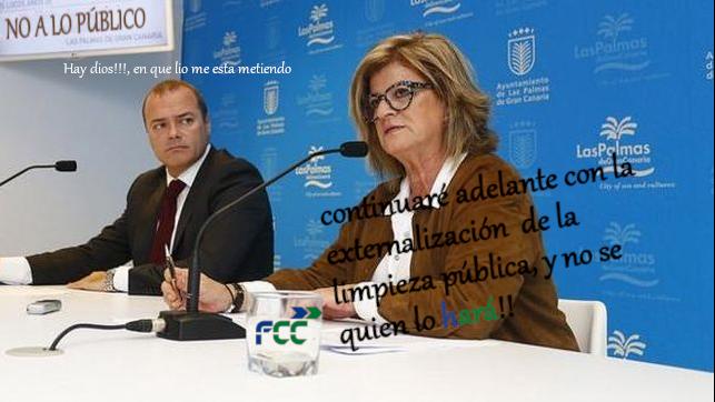 La pésima gestión del PSOE en Limpieza, la resuelve privatizando más el Servicio Público